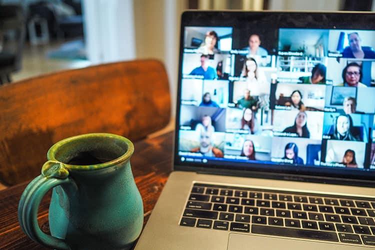 como fazer palestra online